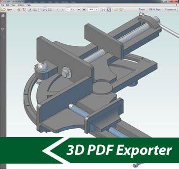 SimLab 3D PDF Exporter for Alibre