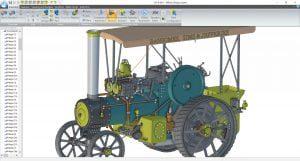 alibre-design-zrzut-ekranu-historyczne-maszyny-maly-ciagnik-2