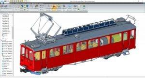 alibre-design-zrzut-ekranu-modelarstwo-tramwaj