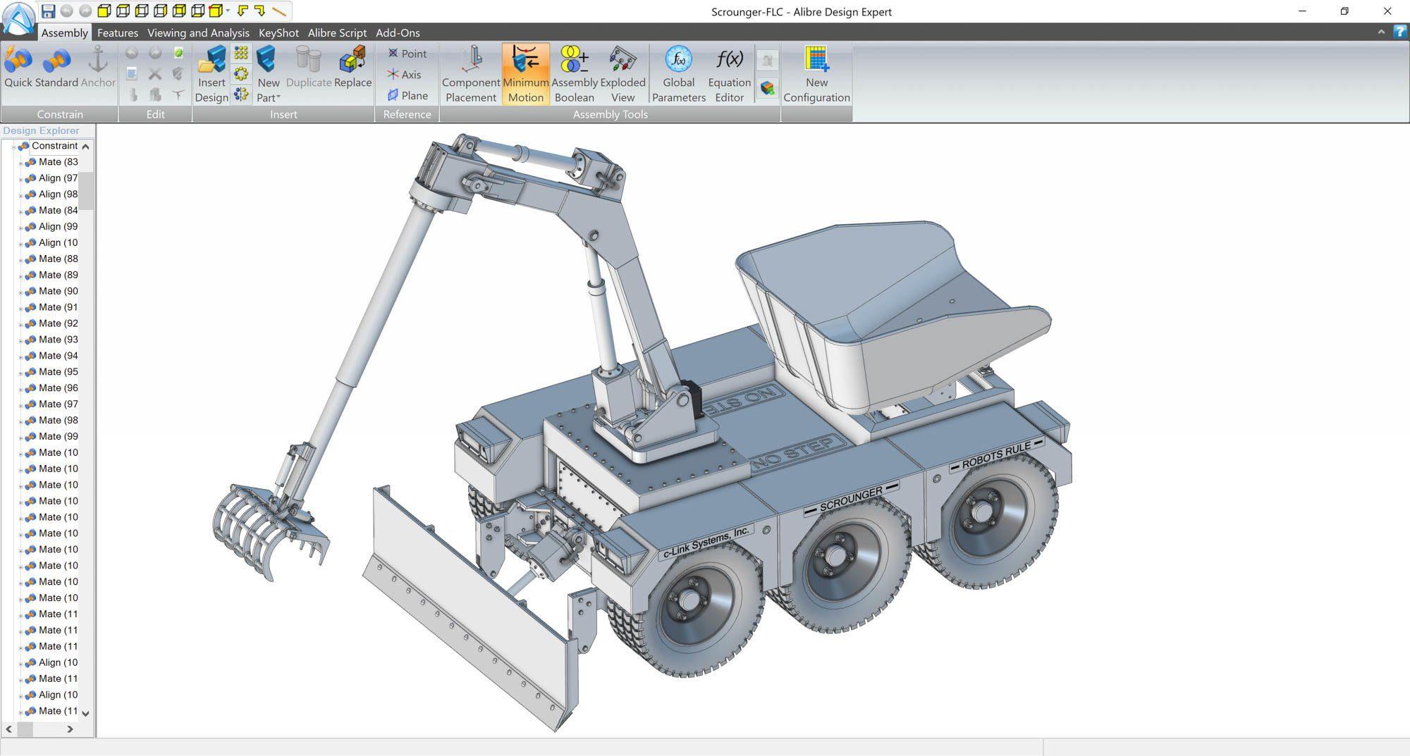 alibre-design-zrzut-ekranu-robotyka-robot-strazacki