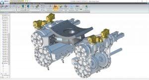 alibre-design-zrzut-ekranu-transport-cylinder-i-układ-wydechowy