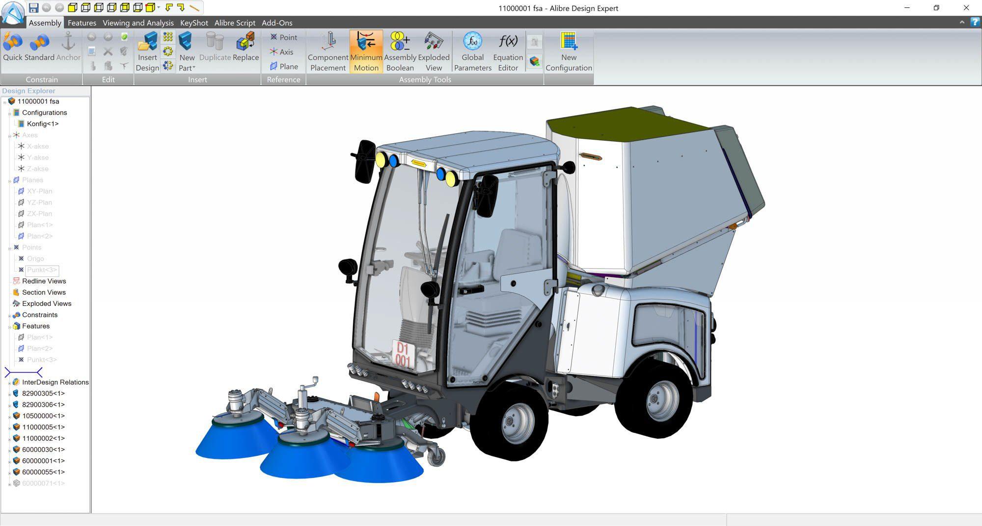 alibre-design-zrzut-ekranu-transport-pojazd-czyszczacy-ulice