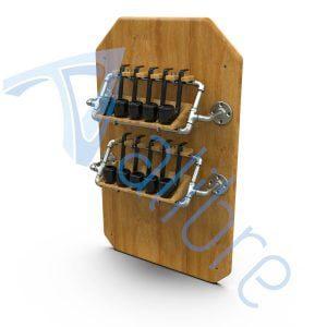 alibre design keyshot render fotorealistyczny rendering stojak na fajki