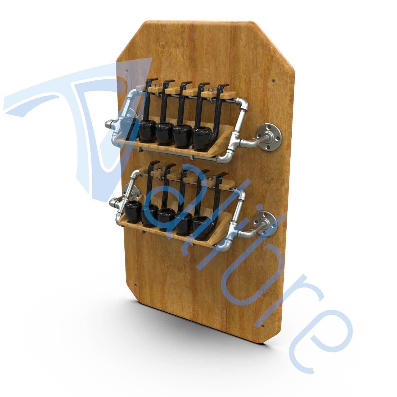 alibre design keyshot render fotorealistyczny rendering stojak nafajki