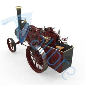 alibre design keyshot render fotorealistyczny rendering traktor