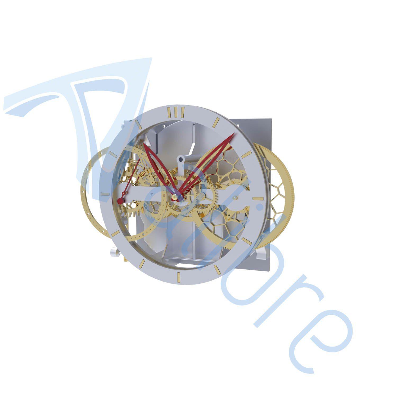 alibre design keyshot render fotorealistyczny rendering zegar