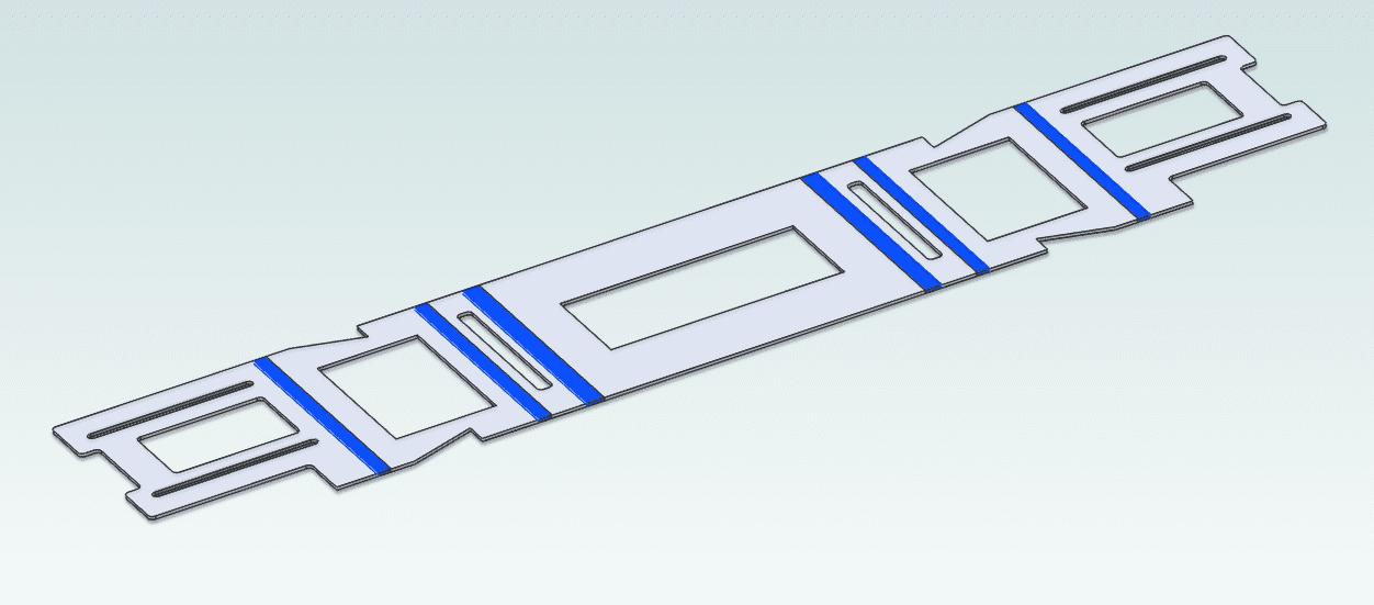 Przetwarzanie bryły na blachę Alibre SolidWorks 3
